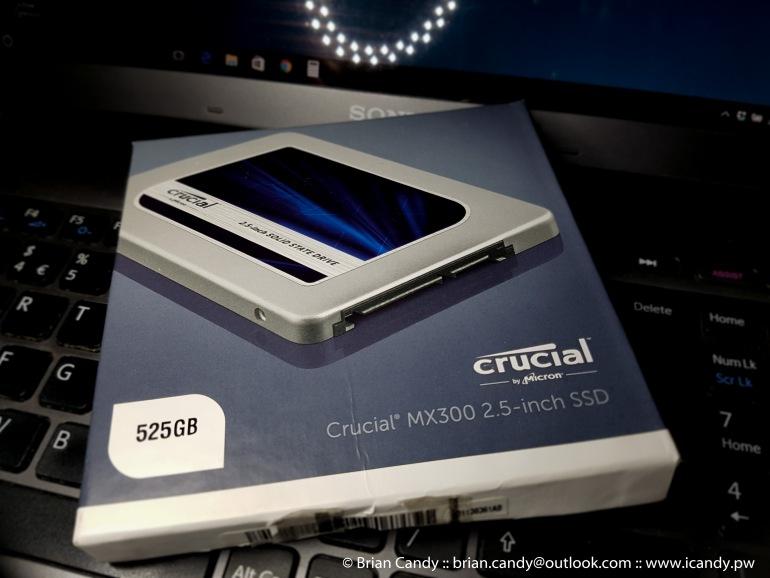 Crucial 525GB SSD